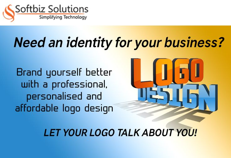 Your visual brand conveying a sense of presence and power. http://www.softbiztech.com/logo-design.html
