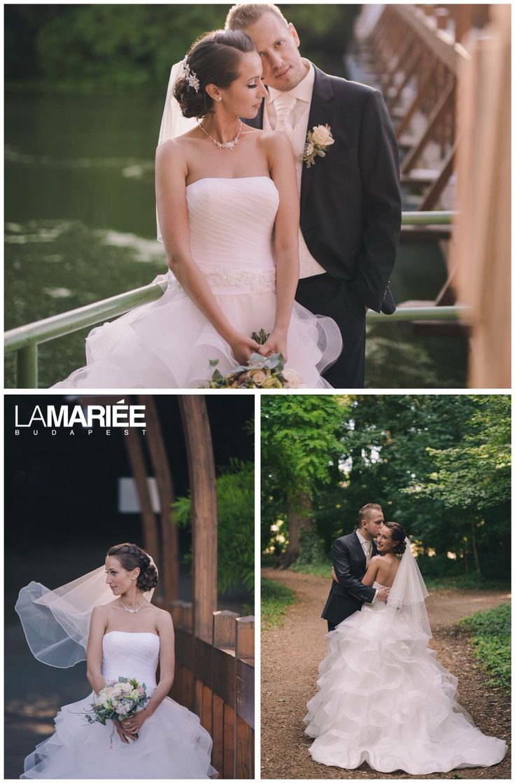 Belia esküvői ruha - Pronovias kollekció - Anita menyasszonyunk  http://mobile.lamariee.hu/eskuvoi-ruha/pronovias-2015/belia
