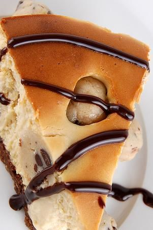 Chocolate Chip Cookie Dough Cheesecake...