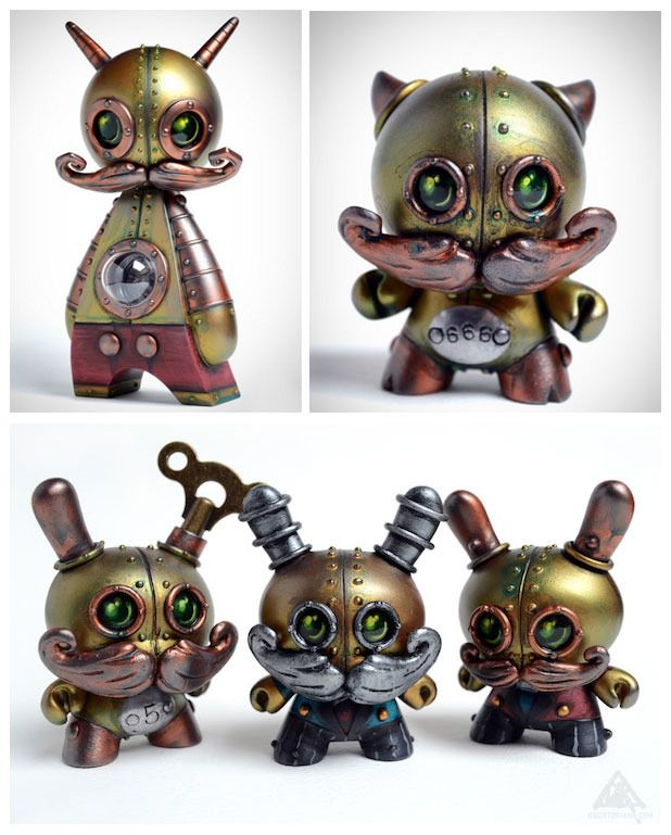 SpankyStokes.com | Vinyl Toys, Art, Culture, & Everything Inbetween: Doktor A. reveals some customs for ToyCon UK!!!