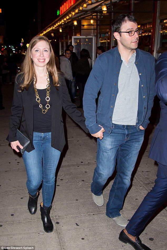 Chelsea Clinton goes on a date with Emily Blunt and John Krasinski