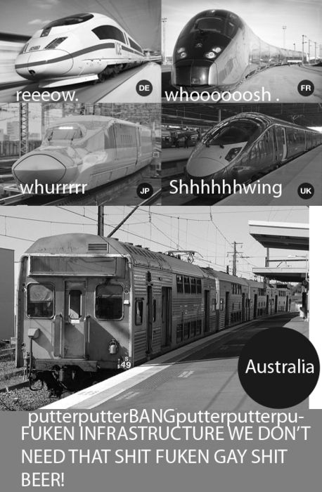 Getting anywhere takes FOREVER. Public transport is the worst.   29 Problems Only Australians Can Understand