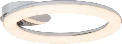 Brilliant Donut LED Deckenleuchte flach chrom/weiß Jetzt bestellen unter: https://moebel.ladendirekt.de/lampen/deckenleuchten/deckenlampen/?uid=fad61168-3db6-52ad-9d6a-8517641796d0&utm_source=pinterest&utm_medium=pin&utm_campaign=boards #deckenleuchten #heim #lampen #deckenlampen
