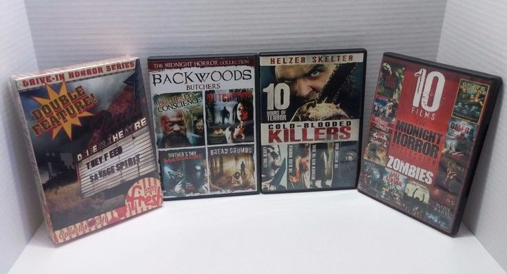 They Feed Savage Spirit Backwoods Butchers Cold Blooded Killers, Horror DVD Lot