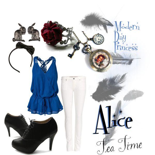 """Alice"" Modern Day Disney Princess"