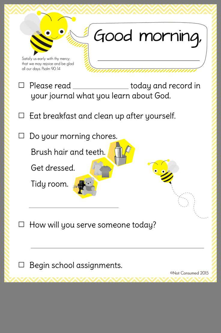 Pin by Rachel on Homeschool Morning checklist