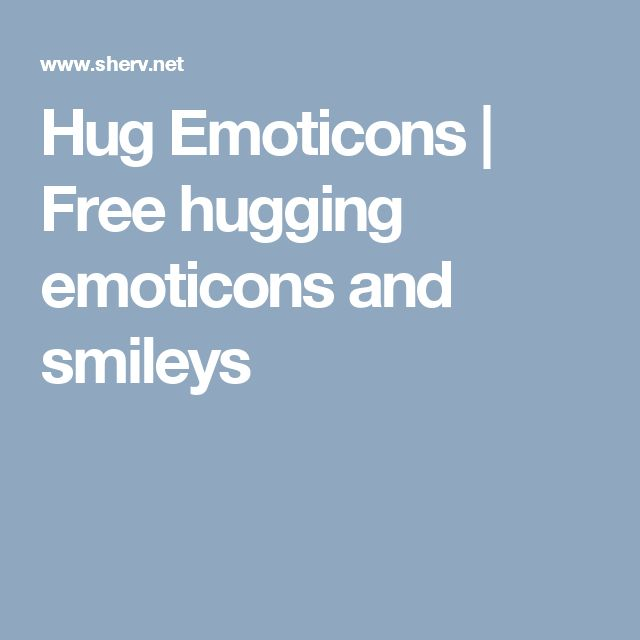 Hug Emoticons | Free hugging emoticons and smileys