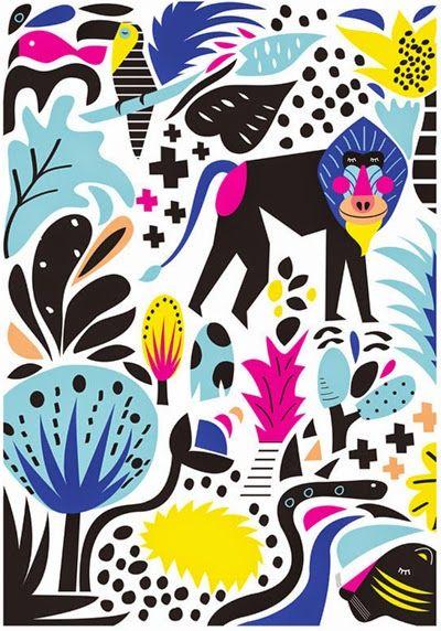 Hello Pants by Anna Dance. print & pattern