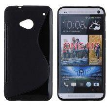 Forro HTC One - Sline Negra  Bs.F. 33,56