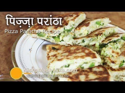 Pizza Paratha recipes | Cheese Stuffed Paratha Recipe - YouTube