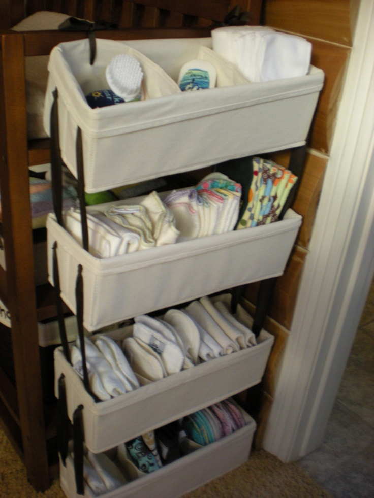 21 best images about make room for baby on pinterest for Baby organizer ideas