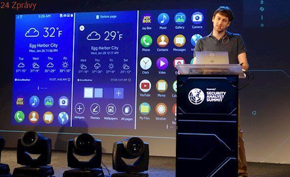 Televize, chytré hodinky a mobily Samsung s OS Tizen jsou nebezpečné