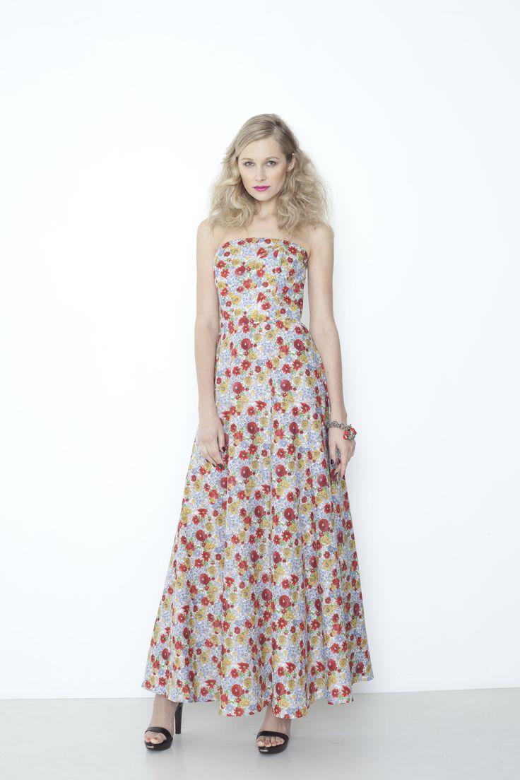 Kodak Dress - sunshine floral
