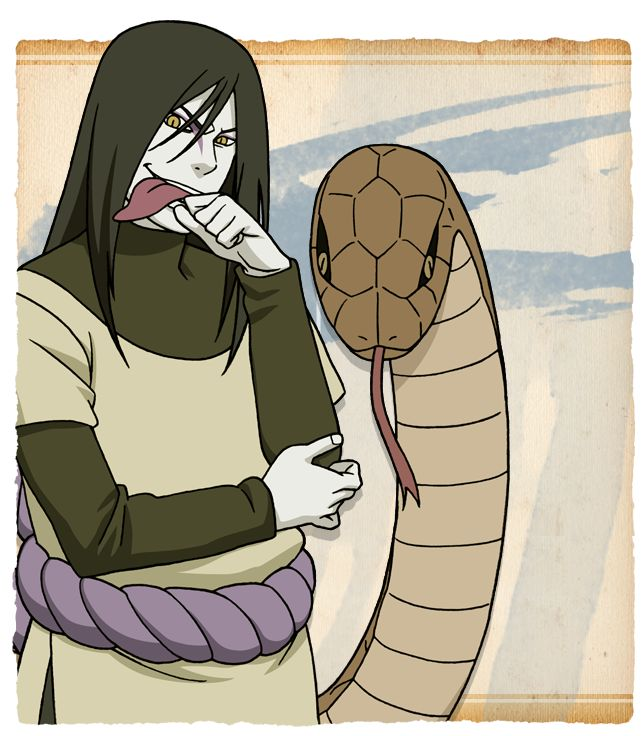 31 best -OROCHIMARU (SNAKE)- images on Pinterest