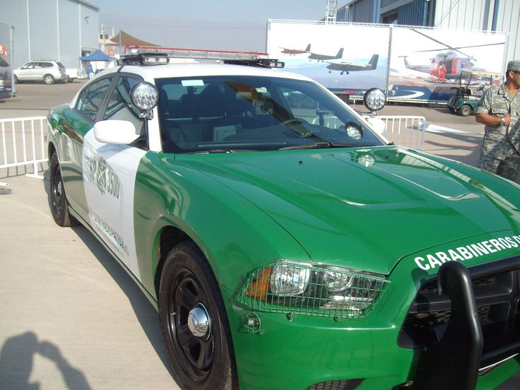 Dodge Charger for chilean police ,Highway only
