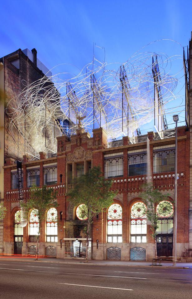 Fundació Antoni Tàpies / Abalos + Sentkiewicz Arquitectos