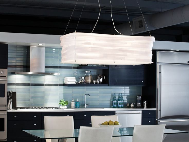 3 Form Light Basket Fixture. And That Kitchen.