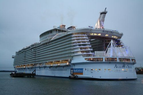 MS Allure of the Seas is a cruise ship owned and operated by Royal Caribbean International.