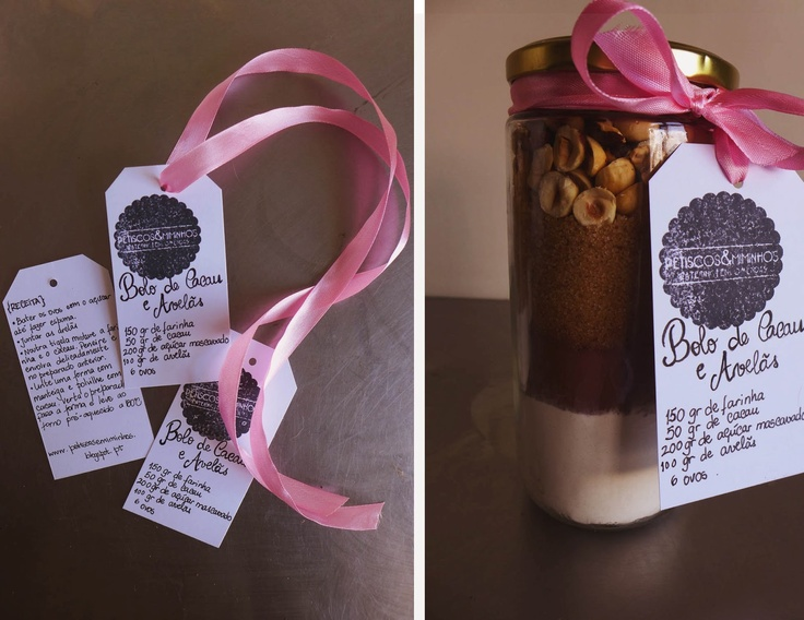 Cake in a jar {for Mother's Day)