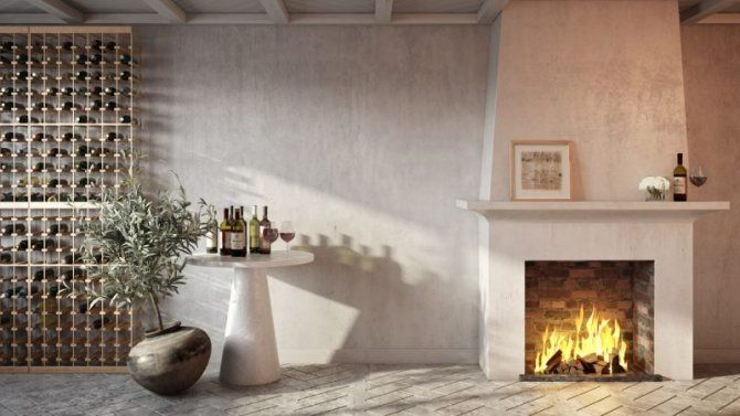 fireplace backgrounds living cozy interior redecorated holiday ll stylecaster havenly
