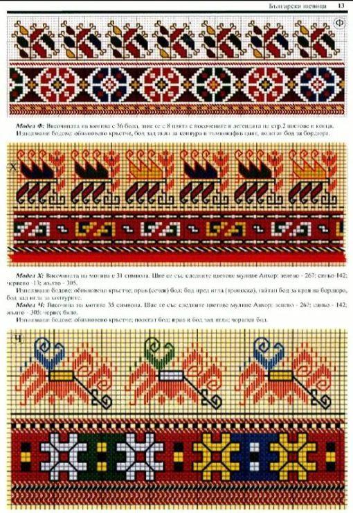 Болгарская вышивка. Обсуждение на LiveInternet - Российский Сервис Онлайн-Дневников