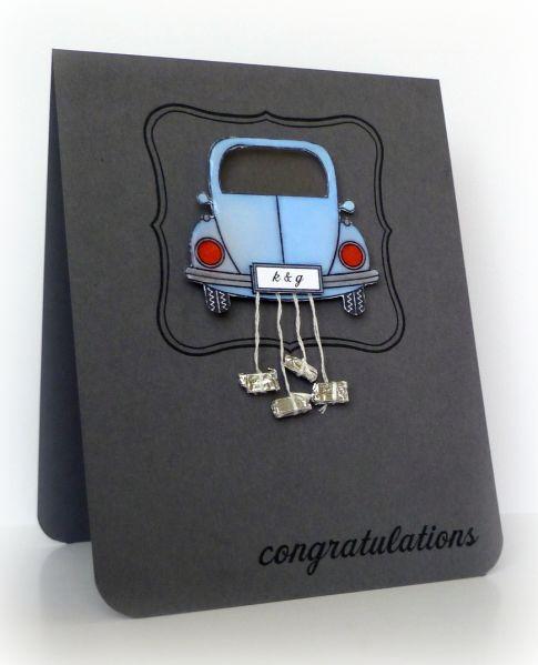 Such a good idea for a wedding card.