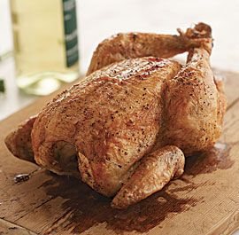 BEST-EVER ROAST CHICKEN courtesy Taunton's Fine Cooking. *Roasting rack in a medium (9x13-inch or similar) flameproof baking dish or roasting pan.  http://www.finecooking.com/recipes/best-ever-roast-chicken.aspx