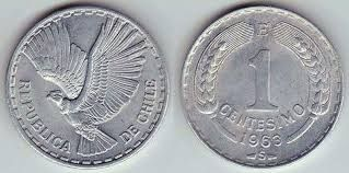 Resultado de imagen para monedas chilenas