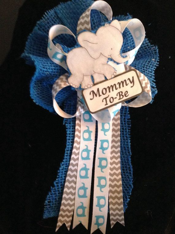 Elephant baby shower by CutestFavors