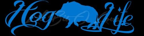Hog Hunter Vinyl Decal Sticker Hunting Hogs Life Hog Life Vehicle Auto | LilBitOLove - Housewares on ArtFire