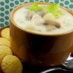 """Fish Chowder I """"This is the best seafood chowder soup that we ever had! My family can't get enough!"""""""