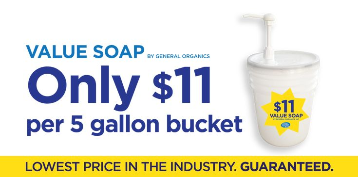 Cheapest 5 gallon pails of laundry detergent for flea markets and wholesale  distributors