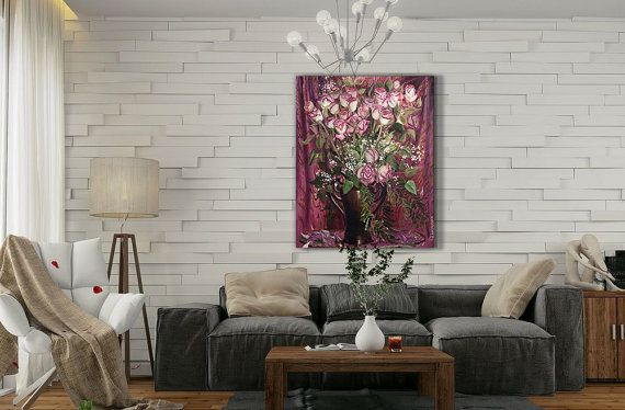Still Life Wall Art-Roses-Flowers Oil Painting On от InnaShirokova