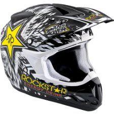 Rockstar Energy Drink Officially Licensed AR Youth Boys A12 Nova Motocross/Off-Road/Dirt Bike Motorcycle Helmet - http://downhill.cybermarket24.com/rockstar-energy-drink-officially-licensed-ar-youth-boys/
