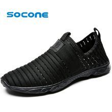 Socone Men Aqua Water Shoes Outdoor Walking Shoes For Men Lightweight Training Sneakers Breathable zapatillas deportivas hombre //Price: $US $19.99 & FREE Shipping //     #exercise