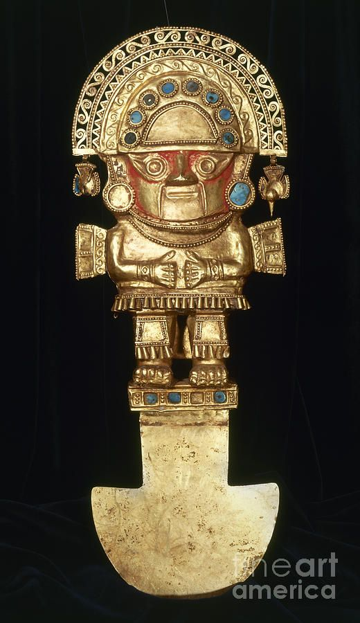 ancient peruvian gold ornaments and jewelry | Inca Ornaments