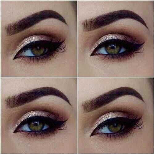 beautiful makeup for hazel eyes