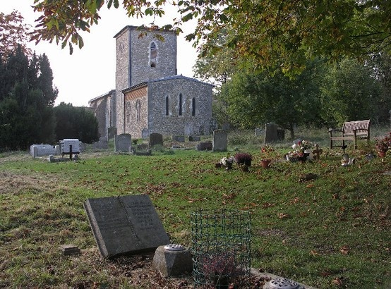 The graveyard where Cat and Max first meet.  They meet in the summer, although this photo was taken in the Fall.