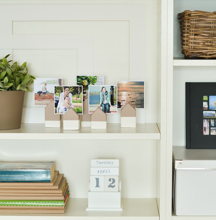 DIY wooden photo holders / деревянные держатели для фотографий своими руками