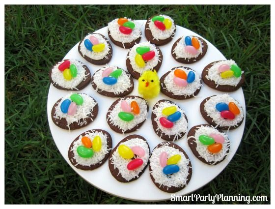 Bird's Nest Cookies Are Cute Easter Desserts