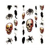 Creepy Carnival Clown Hanging Pkt8 $19.95 A670181