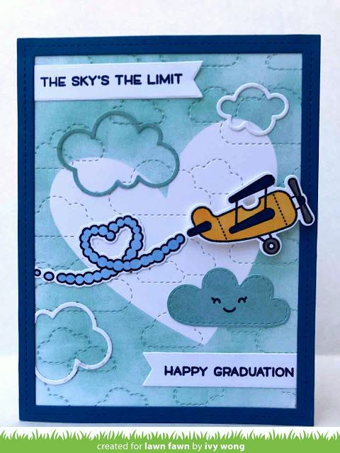 Ivy's Plane and Simple Graduation Card