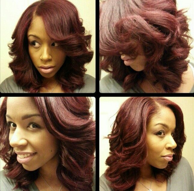 17 Best Images About Hairstyles On Pinterest Wand Curls Bobs And