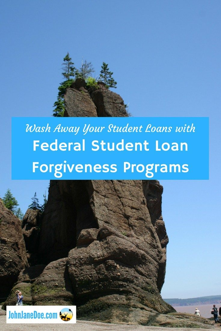 Wash Away Your Student Loans with Federal Student Loan Forgiveness Programs