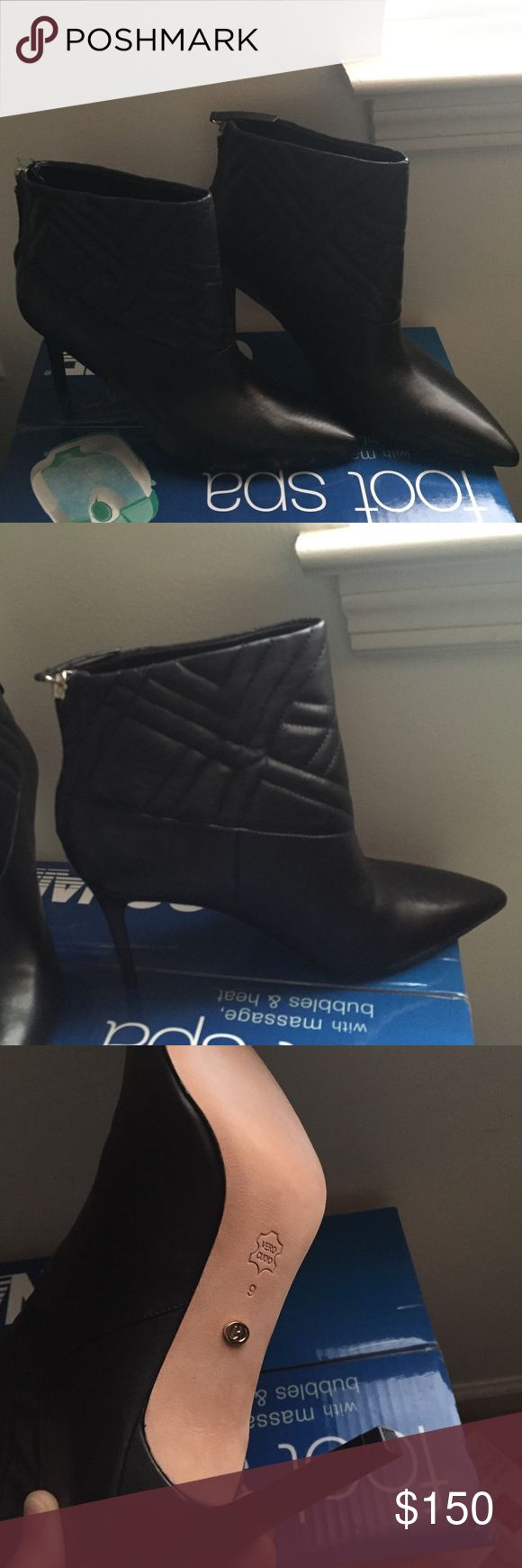 Charles david boots This Charles david boots is a size 9 .finish your winter outfit in this gorgeous boots.  brand new Charles David Shoes Ankle Boots & Booties