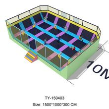 used commercial trampoline for the mall, household trampoline for sale