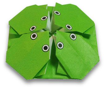 Origami 4 Frogs