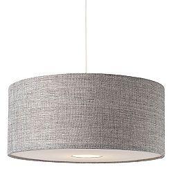 B&Q £24.98 Burnett Large Grey textured shade