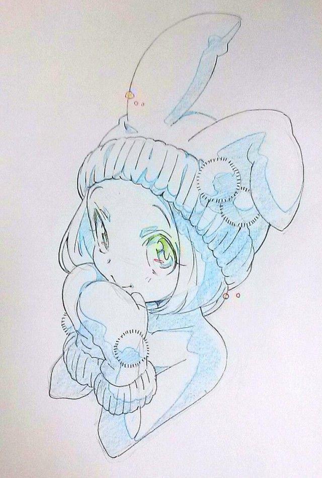 787 best anime girls images on pinterest anime art anime guys and character design - Dessins manga fille ...