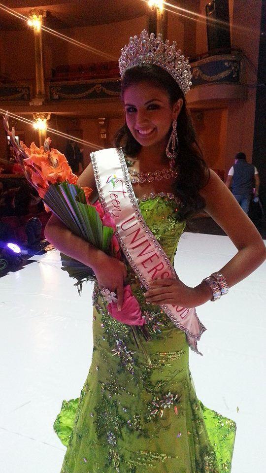Miss Teen Universe 2015 - Dayanara Peralta Loor - Ecuador